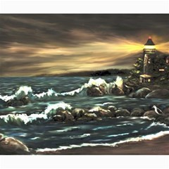 bridget s Lighthouse   By Ave Hurley Of Artrevu   Canvas 20  X 24  by ArtRave2