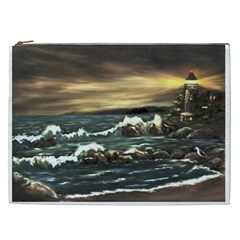 bridget s Lighthouse   By Ave Hurley Of Artrevu   Cosmetic Bag (xxl) by ArtRave2