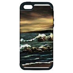bridget s Lighthouse   By Ave Hurley Of Artrevu   Apple Iphone 5 Hardshell Case (pc+silicone)