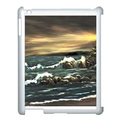 bridget s Lighthouse   By Ave Hurley Of Artrevu   Apple Ipad 3/4 Case (white) by ArtRave2