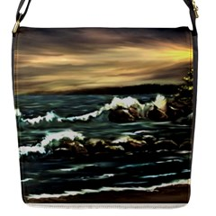bridget s Lighthouse   By Ave Hurley Of Artrevu   Flap Closure Messenger Bag (s) by ArtRave2