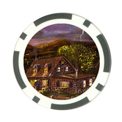 camp Verde   By Ave Hurley Of Artrevu   Poker Chip Card Guard (10 Pack) by ArtRave2