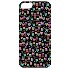 Happy Owls Apple Iphone 5 Classic Hardshell Case by Ancello