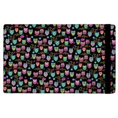 Happy Owls Apple Ipad 2 Flip Case by Ancello