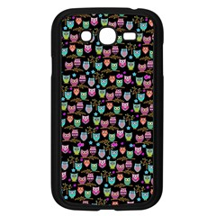 Happy Owls Samsung Galaxy Grand Duos I9082 Case (black) by Ancello