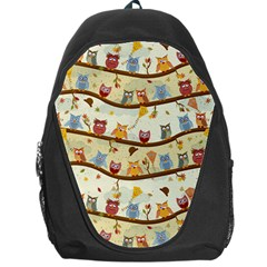 Autumn Owls Backpack Bag by Ancello