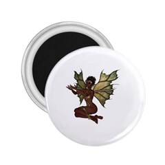 Faerie Nymph Fairy With Outreaching Hands 2 25  Button Magnet by goldenjackal