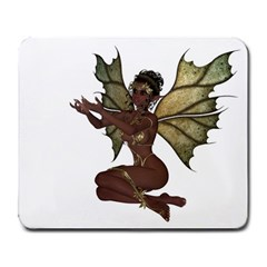Faerie Nymph Fairy With Outreaching Hands Large Mouse Pad (rectangle) by goldenjackal