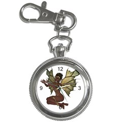 Faerie Nymph Fairy With Outreaching Hands Key Chain & Watch by goldenjackal