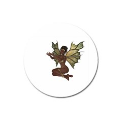 Faerie Nymph Fairy With Outreaching Hands Magnet 3  (round)