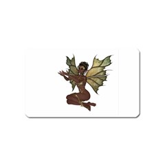 Faerie Nymph Fairy With Outreaching Hands Magnet (name Card) by goldenjackal