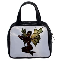 Faerie Nymph Fairy With Outreaching Hands Classic Handbag (two Sides) by goldenjackal