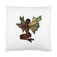 Faerie Nymph Fairy With Outreaching Hands Cushion Case (single Sided)  by goldenjackal