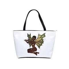 Faerie Nymph Fairy With Outreaching Hands Large Shoulder Bag by goldenjackal