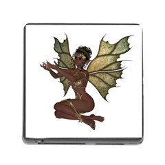 Faerie Nymph Fairy With Outreaching Hands Memory Card Reader With Storage (square) by goldenjackal