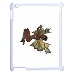 Faerie Nymph Fairy With Outreaching Hands Apple Ipad 2 Case (white) by goldenjackal