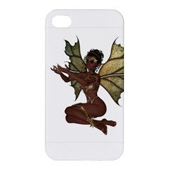 Faerie Nymph Fairy With Outreaching Hands Apple Iphone 4/4s Premium Hardshell Case by goldenjackal
