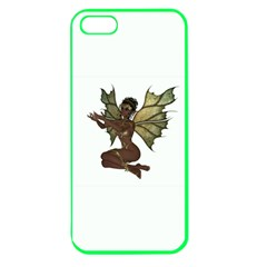 Faerie Nymph Fairy With Outreaching Hands Apple Seamless Iphone 5 Case (color) by goldenjackal