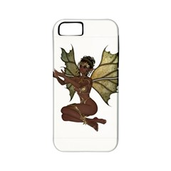 Faerie Nymph Fairy With Outreaching Hands Apple Iphone 5 Classic Hardshell Case (pc+silicone) by goldenjackal