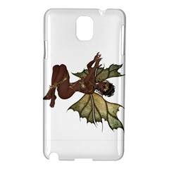 Faerie Nymph Fairy With Outreaching Hands Samsung Galaxy Note 3 N9005 Hardshell Case by goldenjackal