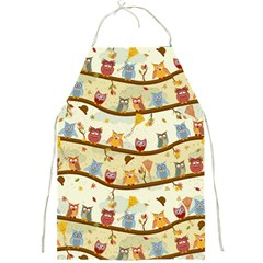 Autumn Owls Apron by Ancello