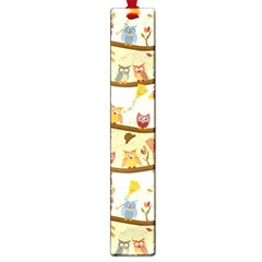 Autumn Owls Large Bookmark by Ancello