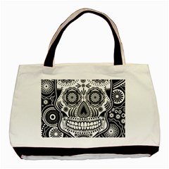 Skull Classic Tote Bag (two Sides) by Ancello