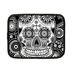 Skull Netbook Case (small) by Ancello