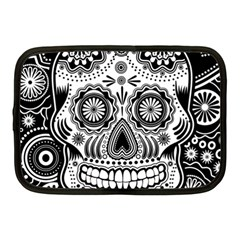 Skull Netbook Case (medium) by Ancello