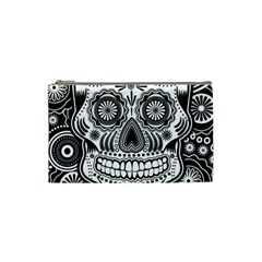 Skull Cosmetic Bag (small) by Ancello