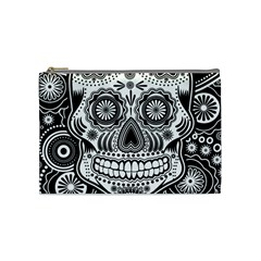 Skull Cosmetic Bag (medium) by Ancello