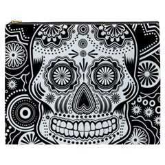 Skull Cosmetic Bag (xxxl) by Ancello