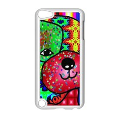 Pug Apple Ipod Touch 5 Case (white) by Siebenhuehner