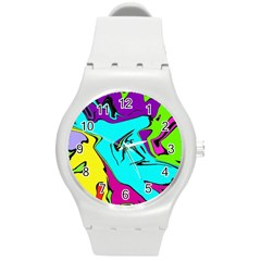 Abstract Plastic Sport Watch (medium) by Siebenhuehner