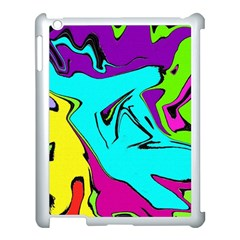 Abstract Apple Ipad 3/4 Case (white) by Siebenhuehner
