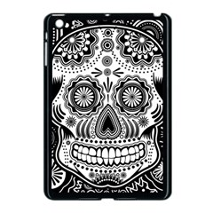 Sugar Skull Apple Ipad Mini Case (black)