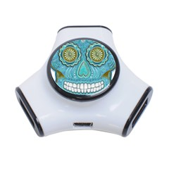 Skull 3 Port Usb Hub by Ancello