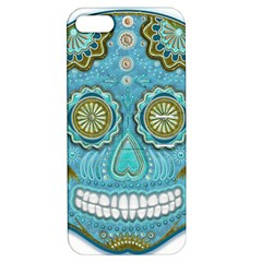 Skull Apple Iphone 5 Hardshell Case With Stand by Ancello