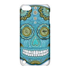 Skull Apple Ipod Touch 5 Hardshell Case With Stand by Ancello