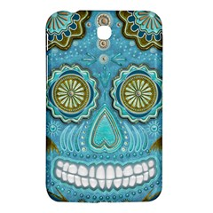 Skull Samsung Galaxy Tab 3 (7 ) P3200 Hardshell Case  by Ancello