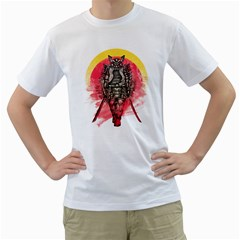 Blood Samurai Mens  T Shirt (white)