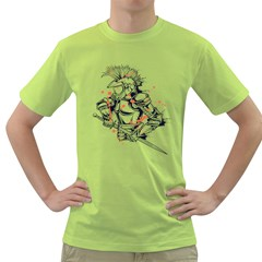 Captain ! Mens  T Shirt (green) by Contest1840973