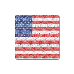 Flag Magnet (square) by uniquedesignsbycassie