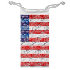 Flag Jewelry Bag by uniquedesignsbycassie