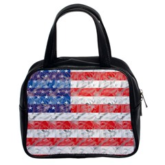 Flag Classic Handbag (two Sides) by uniquedesignsbycassie