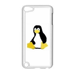 Primitive Linux Tux Penguin Apple Ipod Touch 5 Case (white) by youshidesign