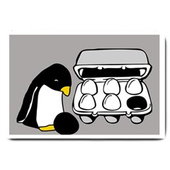 Egg Box Linux Large Door Mat by youshidesign