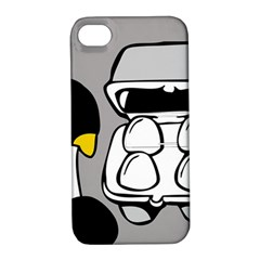 Egg Box Linux Apple Iphone 4/4s Hardshell Case With Stand