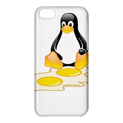 Linux Tux Penguin Birth Apple Iphone 5c Hardshell Case by youshidesign