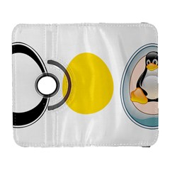 Linux Tux Penguin In The Egg Samsung Galaxy S  Iii Flip 360 Case by youshidesign